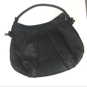 Clarks Black Leather Sholder Bag